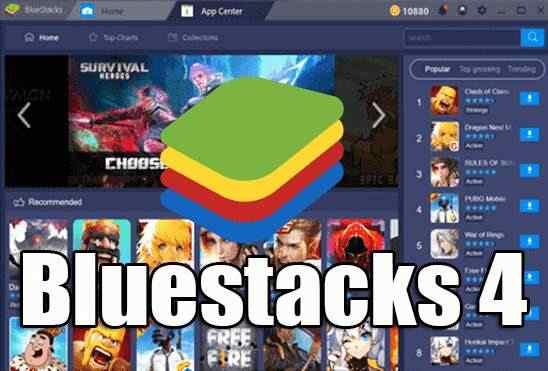 تحميل برنامج بلوستاك Bluestacks 4 عملاق تشغيل تطبيقات الاندرويد على الكمبيوتر اخر اصدار