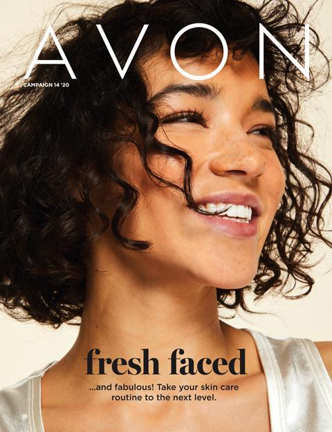 AVON Brochure Campaign 14 2020 - Fresh Faced Flyer