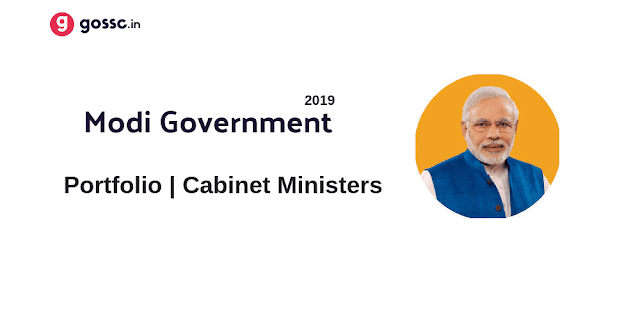 Modi Government Cabinet Ministers 2019