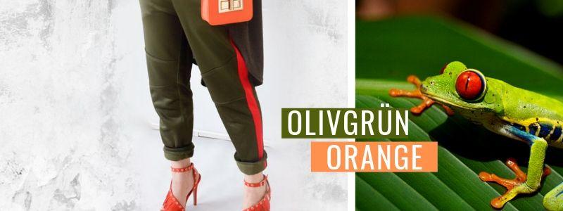 Olivgrün-und-Orange-kombinieren