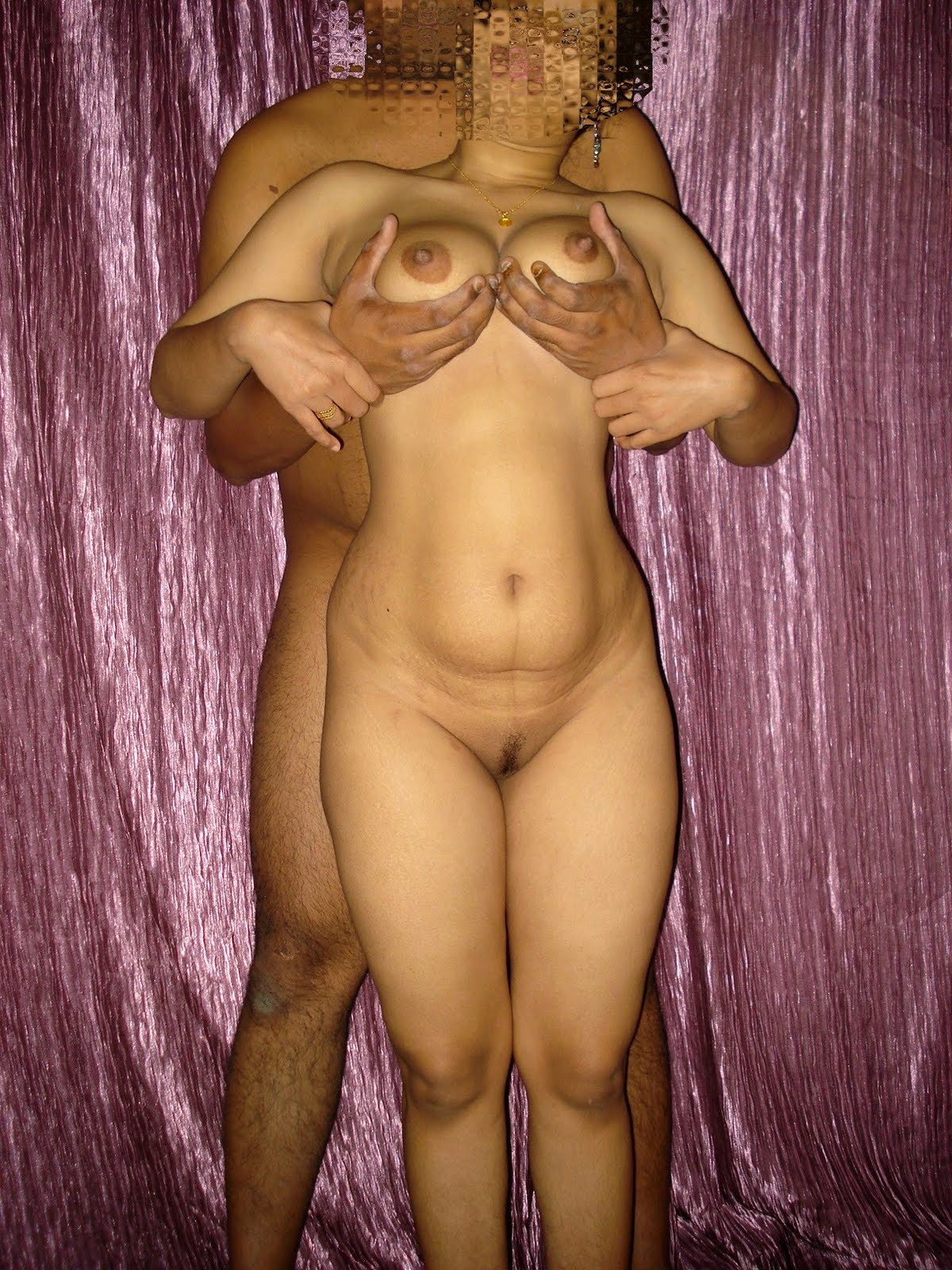 Sindhi bhabhi blackmailed full nude tits