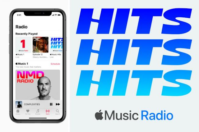 Apple Music launches two new radio stations.