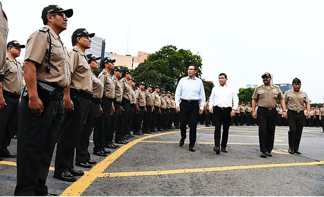 Mininter: 2500 policías más para Lima y Callao