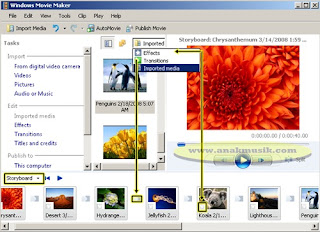 Cara Membuat Video Dari Foto Dengan Windows Movie Maker