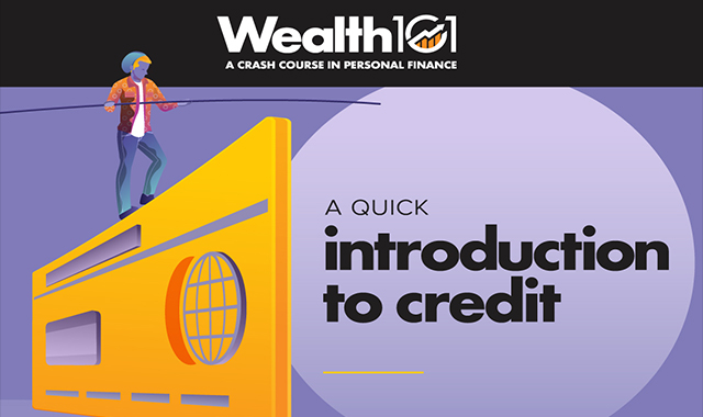 What are the credit-needed young individuals? #infographic