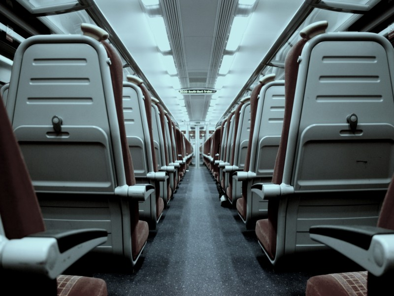 Download Gray and Brown Train Seats HD wallpaper. Click Visit page Button for More Images.
