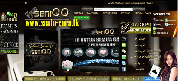 Informasi kontes SEO Agen Domino Bandar Poker Seniqq.com