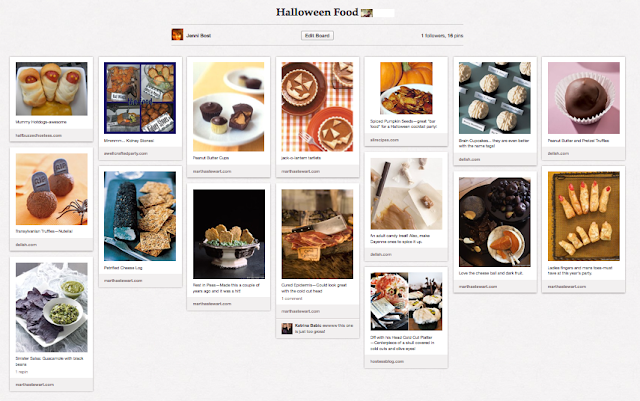 party prep halloween menus a well crafted party