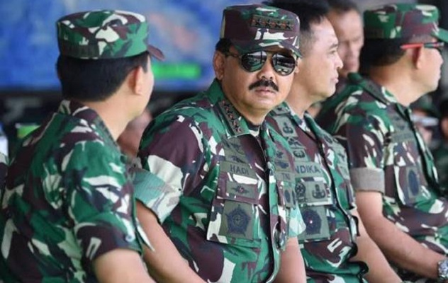 DPR hopes that the TNI will not get caught up in practical politics