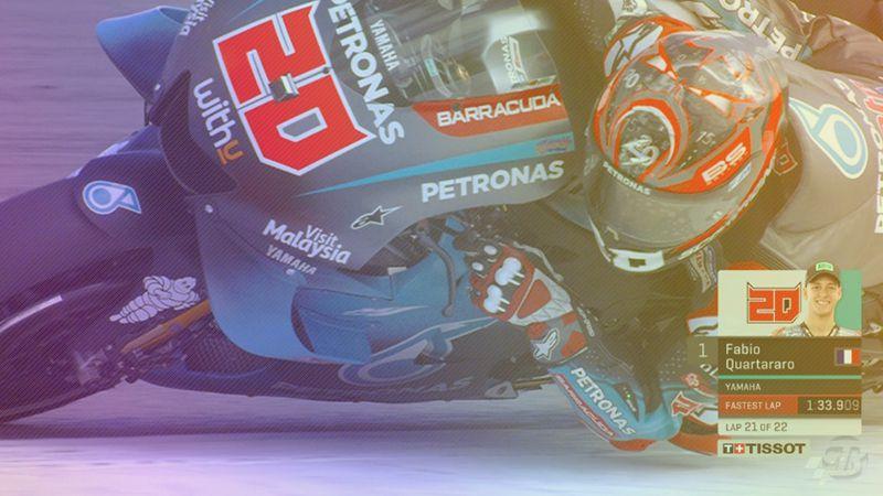 Pembalap Petronas Yamaha Fabio Quartararo