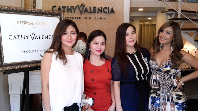 Left to right: Sheena Halili; yours truly; Founder, President and CEO Cathy Valencia-Lim; Sheree.