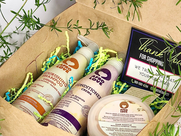 Support local? This subscription box is just what you need for your natural hair journey.