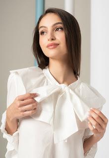 Ted Baker - Дамска Блуза Samala с панделка