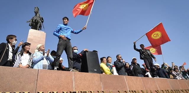 Buntut Protes Tolak Hasil Pemilu, Perdana Menteri Dan Ketua Parlemen Kyrgyzstan Mundur