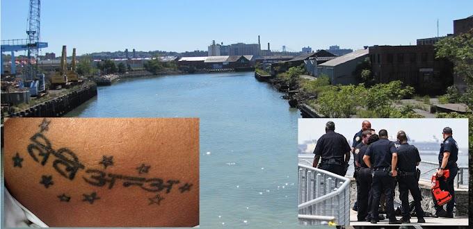 El tatuaje de la mujer decapitada y descuartizada que flotaba en aguas de un canal de Brooklyn