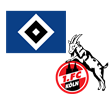 Hamburger SV - FC Köln