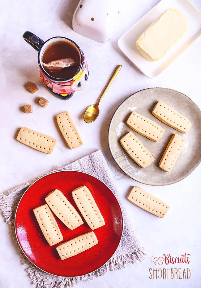 recette biscuits shortbread