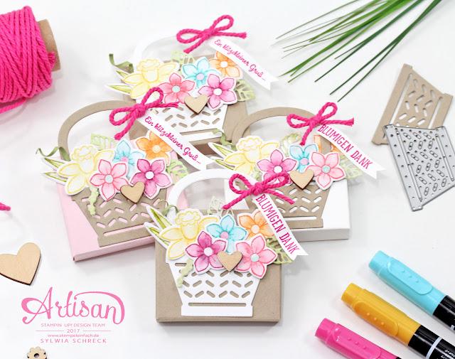 Verpackungen Ostern Frühling Stampin Up