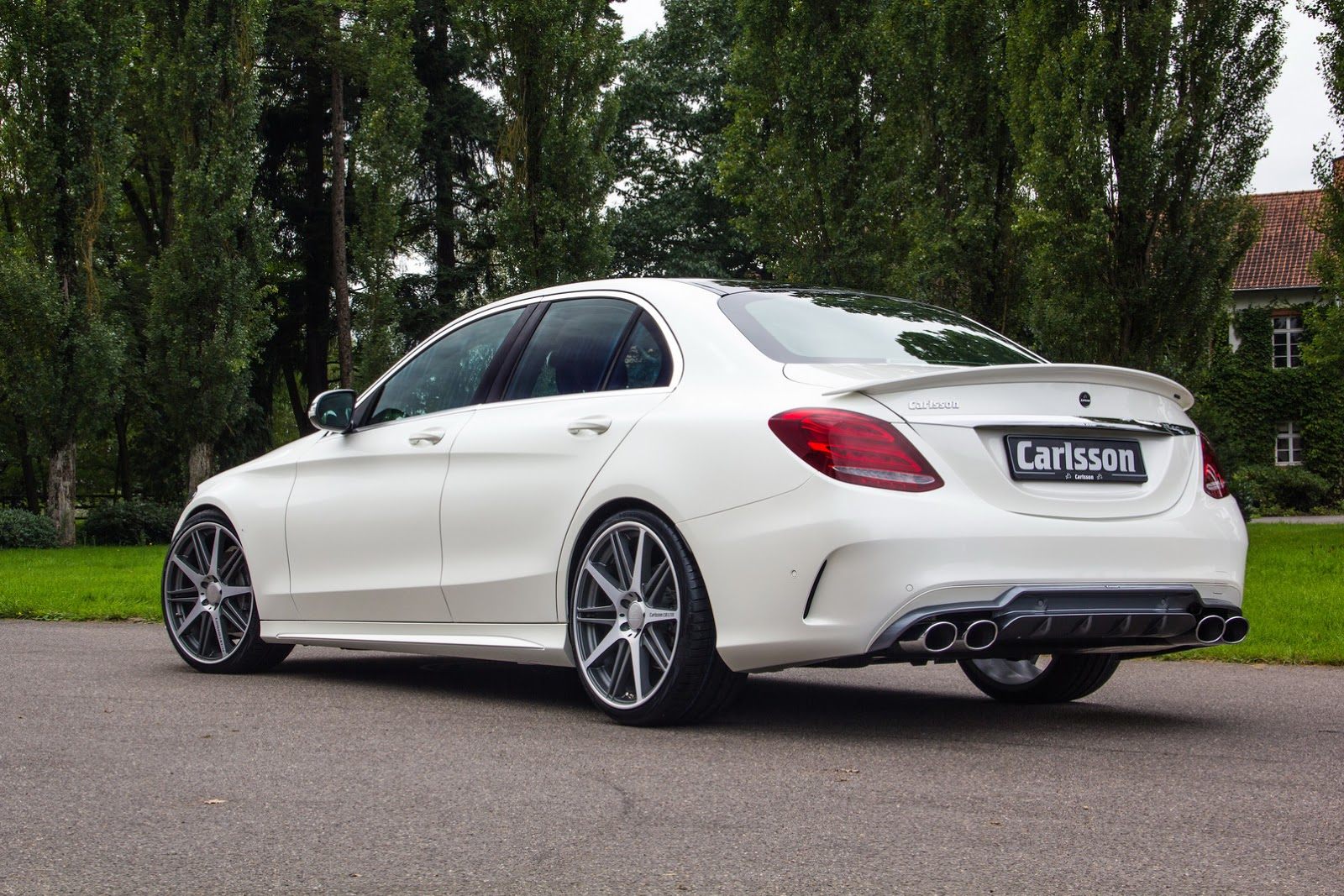 Carlsson S Take On New Mercedes Benz C Class Amg Sport
