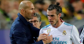 Real Madrid boss Zidane includes Gareth Bale among 4 players he's proud to have coached