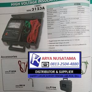 Ready Stok kyoritsu 3123a Digital Insulation Tester di Jepara