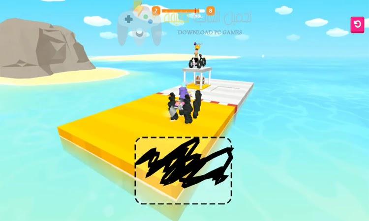 تحميل لعبة Scribble Rider للاندرويد والايفون مجانا