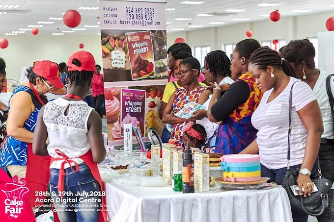 The Cake Fair 2019 opens for registration; cake vendors and suppliers urged to participate