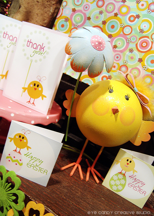 happy eastr, little chick decor, easter party collectiion, easter cards