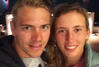 Elise Mertens Enjoying Night Out With Her Boyfriend Robbe Ceyssens