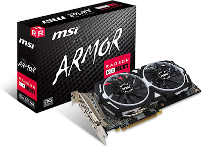 MSI Radeon RX 580 Armor OC 8 GB