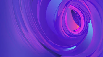 Purple, Abstract, Digital Art, 4K, #4.335