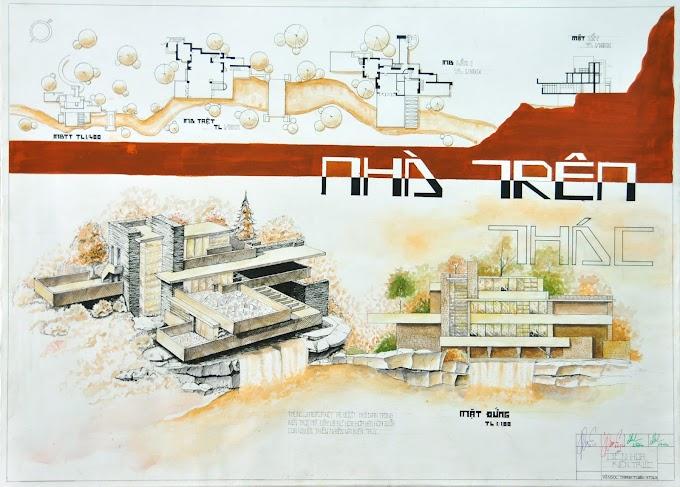 Đồ án cơ sở 2 - Diễn họa kiến trúc của sinh viên UAH (tt)