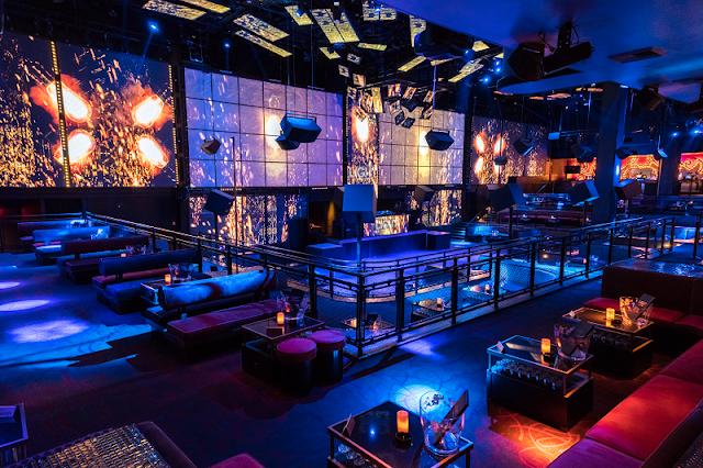 Balada LIGHT NightClub em Las Vegas