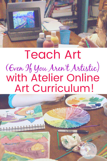 No Good at Art? You Can Teach It with Atelier Homeschool Art!