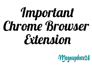 Top 5 Necessary Chrome Browser Extension For Internet Users