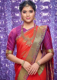 Amritha Aiyer Family Husband Parents children's Marriage Photos