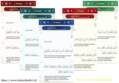 aplikasi Al-Quran bahasa indonesia untuk androidv