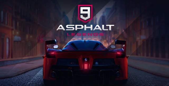 تحميل لعبة أسفلت 9 ليجندز : Asphalt 9: Legends v2.4 للاندرويد [ APK + DATA ]