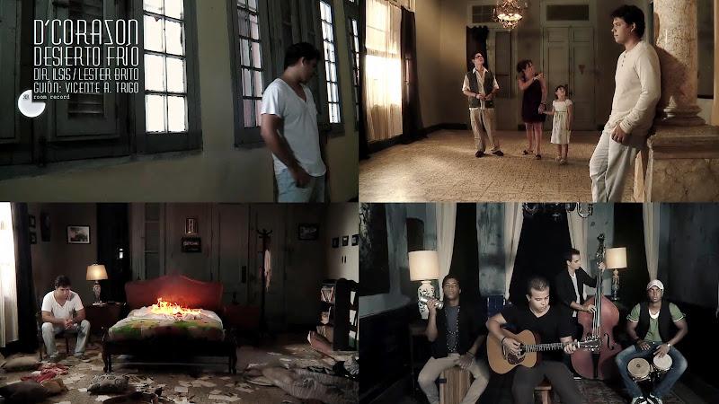 D'CORAZÓN - ¨Desierto Frío¨ - Videoclip - Dirección: Ilsis Céspedes - Lester Brito. Portal Del Vídeo Clip Cubano