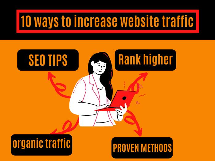 ways to increase organic traffic