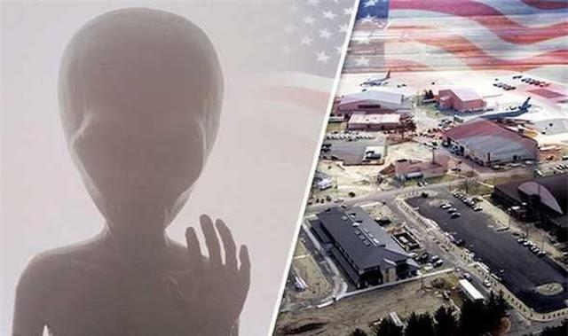 Cảnh sát Mỹ bắn hạ người ngoài hành tinh gần căn cứ Không quân Mỹ