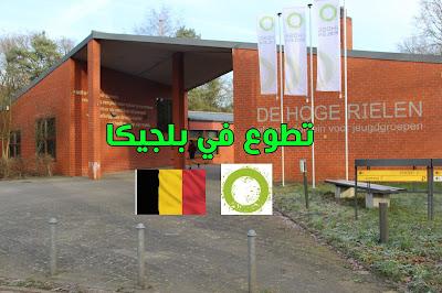 ة للتطوع مع من منظمة De Hoge Rielem في بلجيكا ( ممولة بالكامل)
