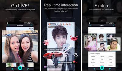 Download Bigo LIVE MOD Apk - Live Broadcasting Apk For Android Terbaru