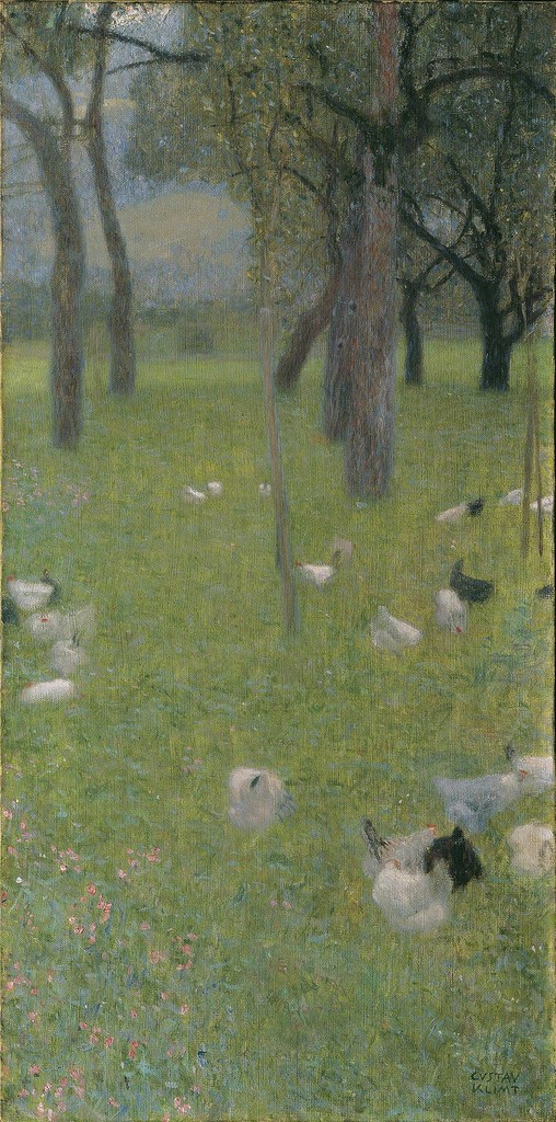 After the Rain (Garden with Chicken in St. Agatha), 1898