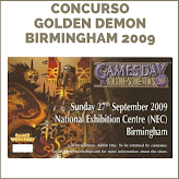 CONCURSO GOLDEN DEMON 2009 BIRMINGHAM
