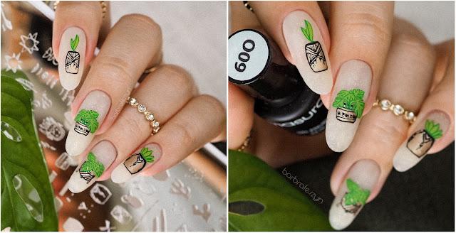 rożlinne paznokcie