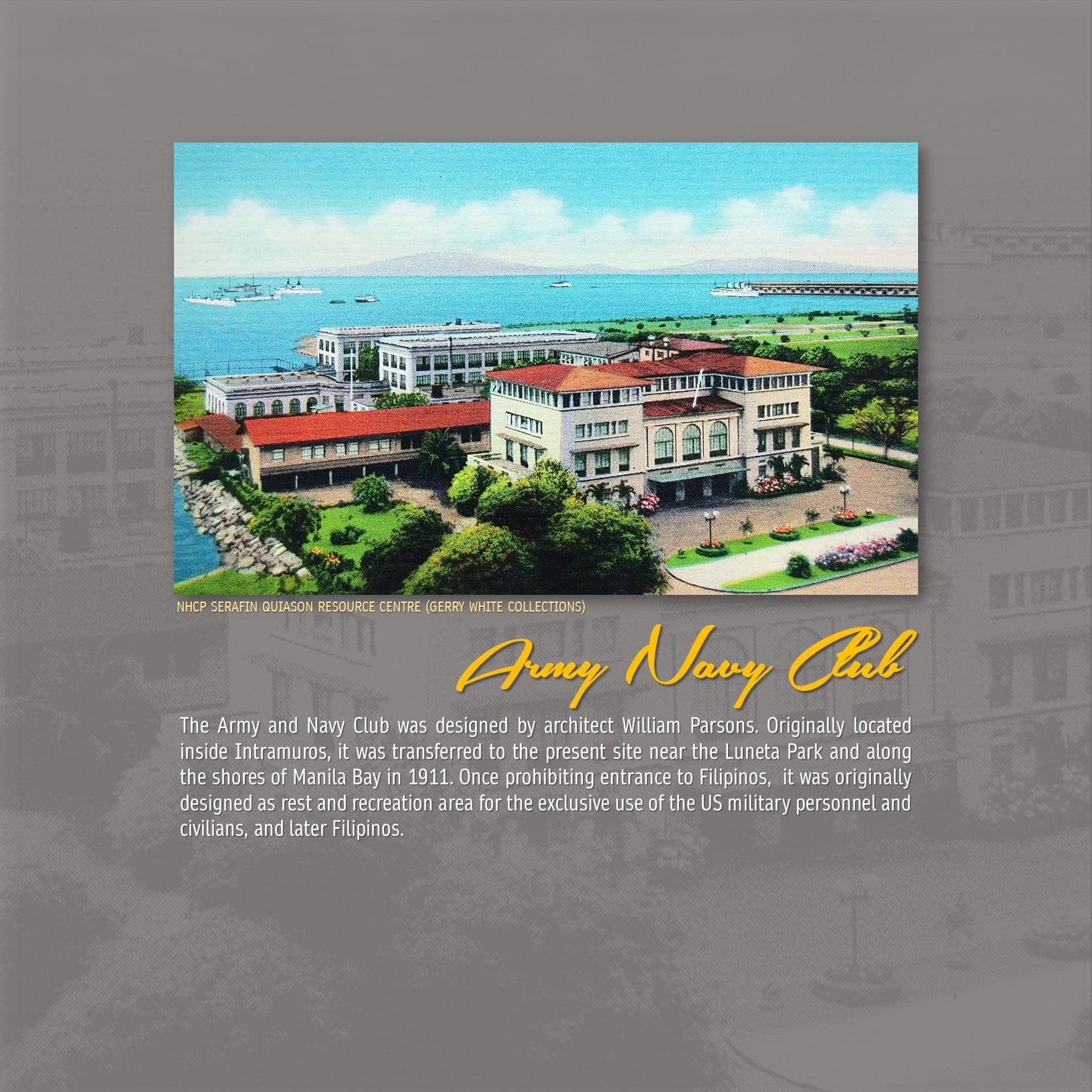 Army Navy Club Manila Philippines