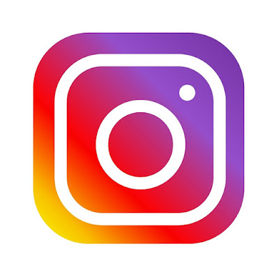 The logo of Instagram
