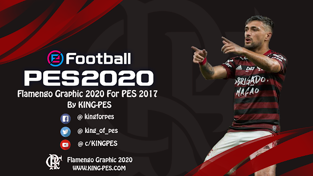 PES 2017 Flamengo Graphic 2020 By KING-PES
