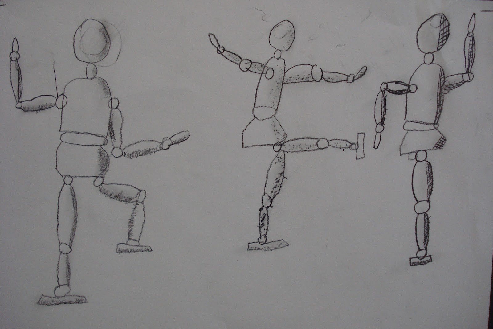 The Crearttivity Spot 5th Grade Figure Drawings